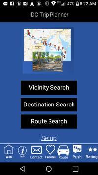 IDC Trip Planner screenshot 1