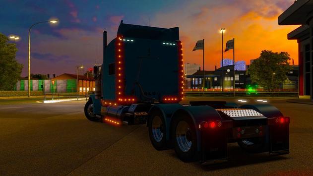 3D Euro Truck Driving Simulator Extreme screenshot 4