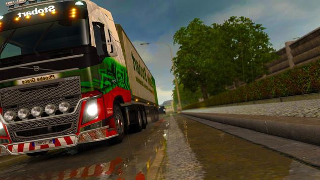 3D Euro Truck Driving Simulator Extreme screenshot 9