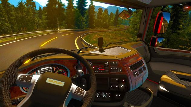 3D Euro Truck Driving Simulator Extreme screenshot 10