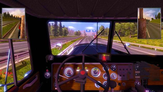 3D Euro Truck Driving Simulator Extreme screenshot 2