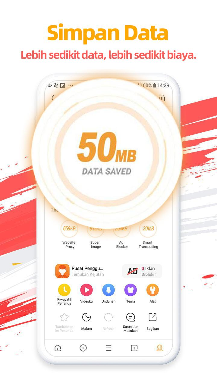 Uc Browser V13 3 8 1305 Apk Download Free Android Browser For Mobile Built In Cloud Acceleration And Data Compression Technology