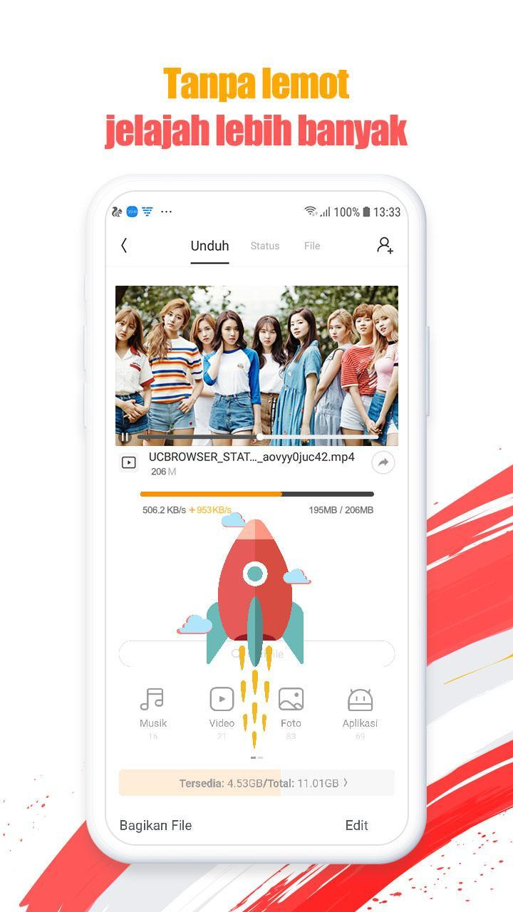 UC Browser v12 13 0 1207 APK download, free Android Browser
