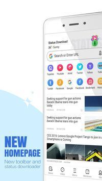 1 Schermata UC Browser