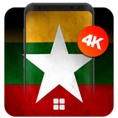 Myanmar Flag Wallpapers | UHD 4K Wallpapers icon