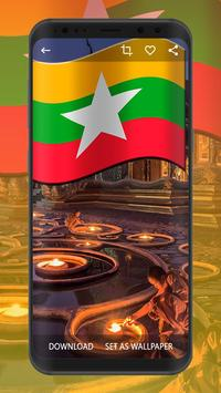 Myanmar Flag Wallpapers | UHD 4K Wallpapers screenshot 3