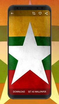 Myanmar Flag Wallpapers | UHD 4K Wallpapers poster