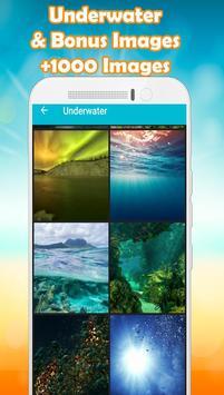 Underwater Wallpaper poster
