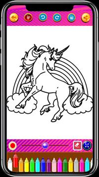 Unicorn Coloring Book screenshot 14