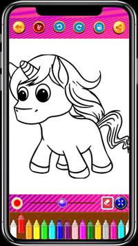 Unicorn Coloring Book screenshot 8
