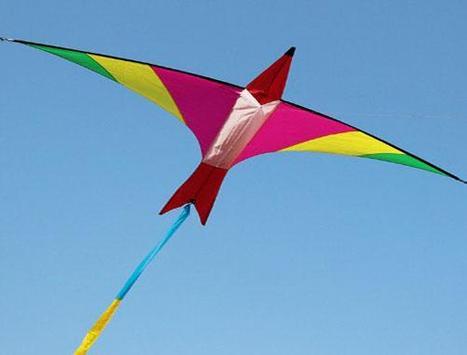 Design Unique Kite Flying Idea poster