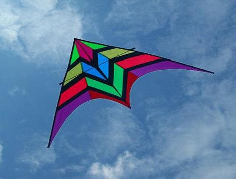 Design Unique Kite Flying Idea screenshot 1