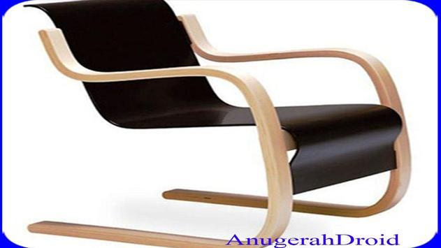 Unique Wooden Chairs Design screenshot 5
