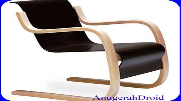 Unique Wooden Chairs Design screenshot 6