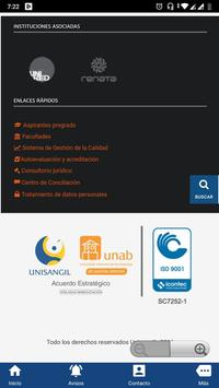 UNISANGIL Fundación Universitaria de San Gil screenshot 5