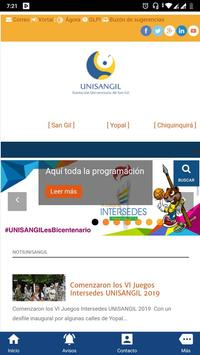 UNISANGIL Fundación Universitaria de San Gil screenshot 1