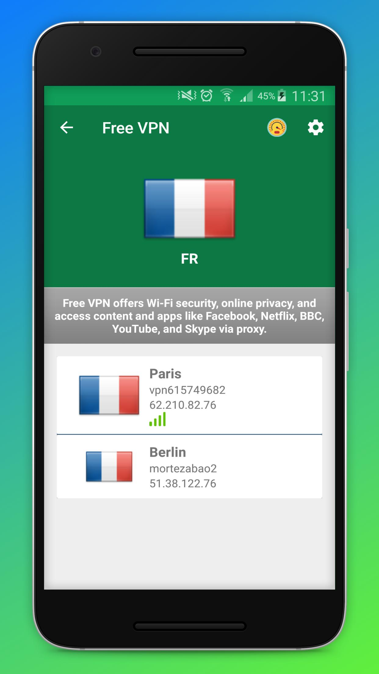 Free VPN - Fast VPN Unlimited Secure Proxy Unblock for Android - APK
