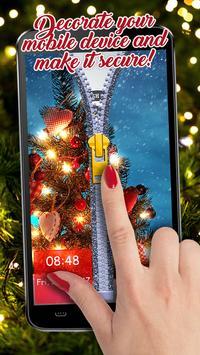 Happy New Year Zipper Lock Screen Wallpapers 2019 screenshot 11