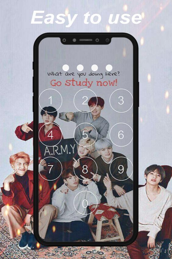 Kpop Lock Screen Bts Wallpaper For Android Apk Download