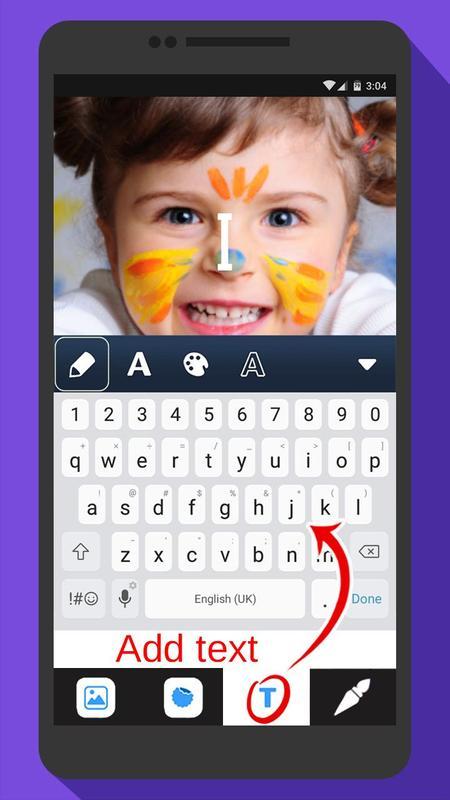 Android Için Resim üzerine Yazı Yazma Proğramı Apkyı Indir