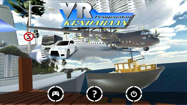 Virtual Reality Kendaraan poster