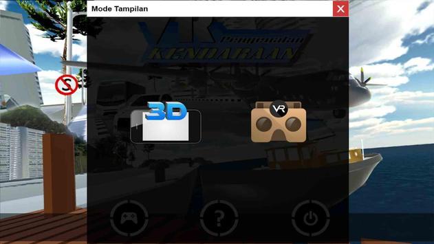 Virtual Reality Kendaraan screenshot 1