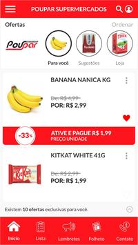 Clube Poupar Supermercados screenshot 1