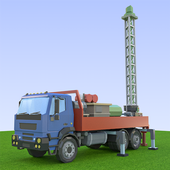 Oil Well Drilling icon