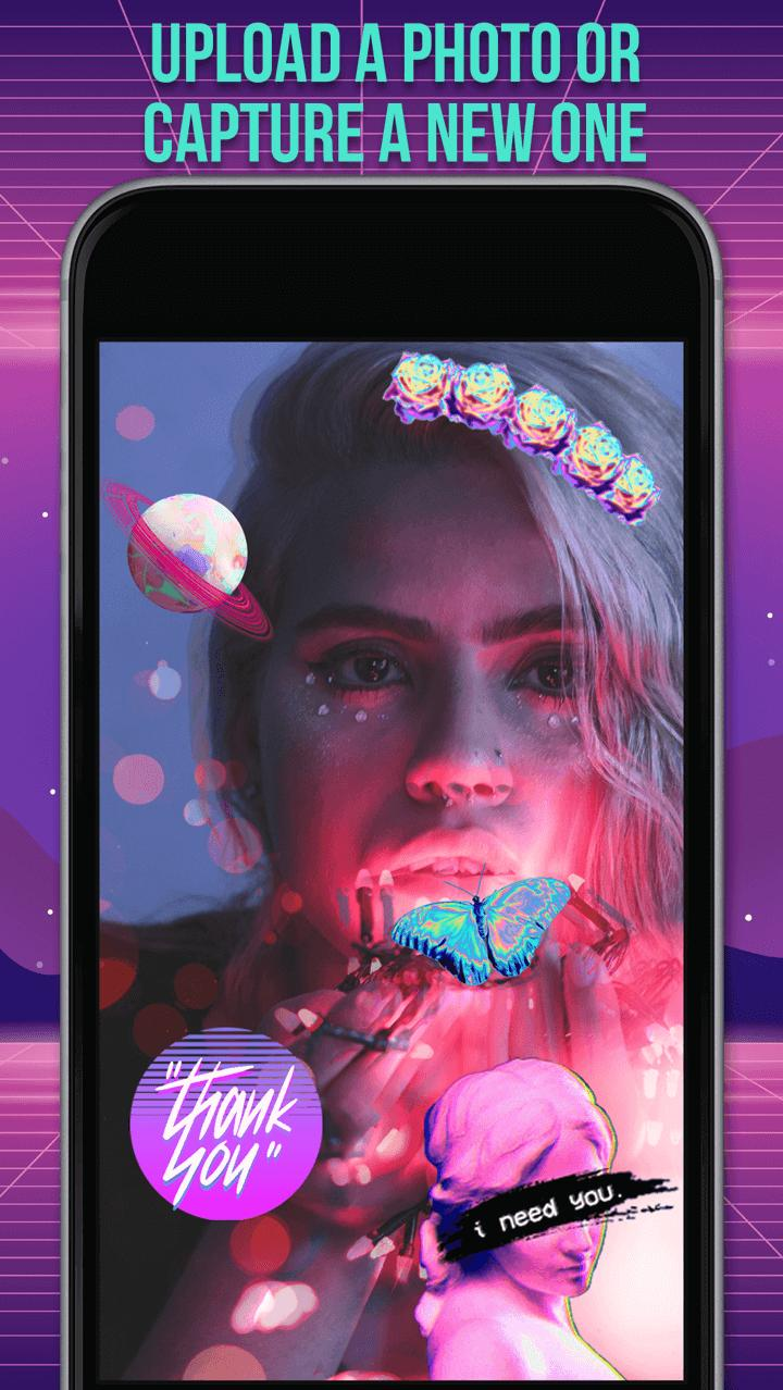 Vaporwave Photo for Android - APK Download