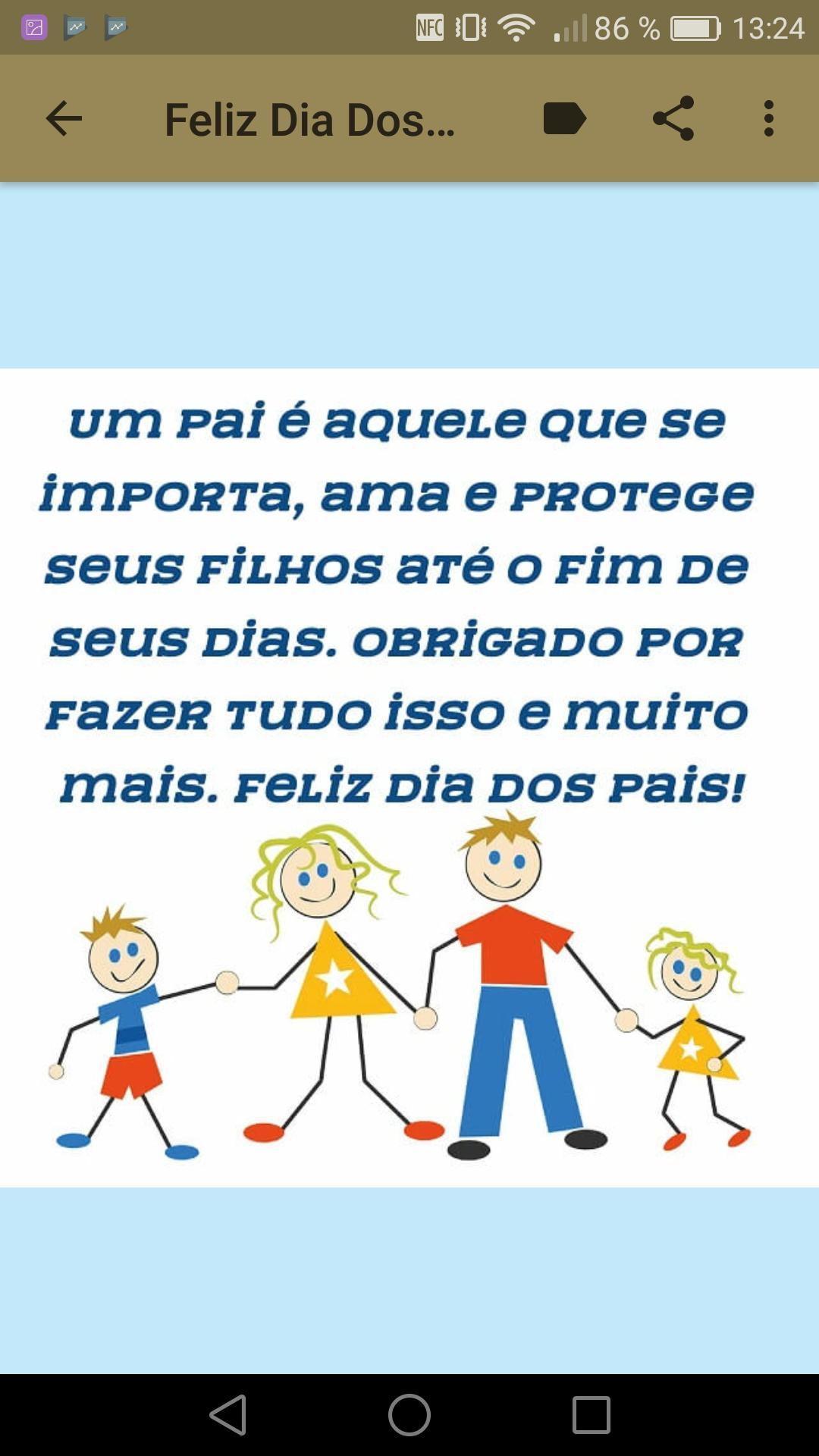 Feliz Dia Dos Pais Frases Para Dia Dos Pais For Android