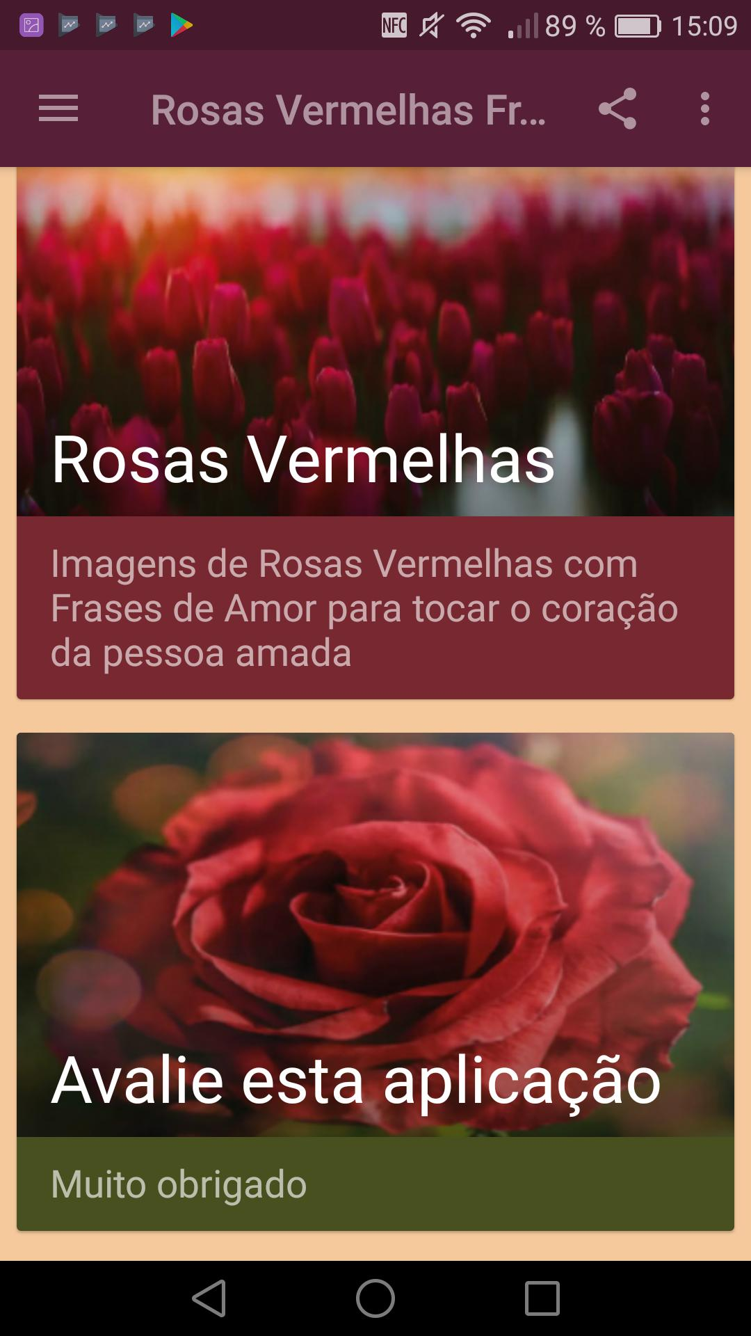 Rosas Vermelhas Com Frases De Amor For Android Apk Download