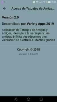Tatuajes de Amigas y de Amigos screenshot 1