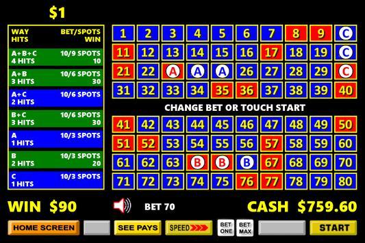 369 Vegas Style Keno screenshot 8