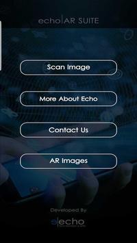Echo AR Scanner poster