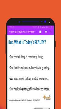 Vestige Business Presentation screenshot 3