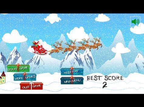 Santa Fly: Happy Christmas screenshot 4