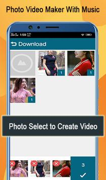 Image Video Maker - Photos Video Maker With Music screenshot 1