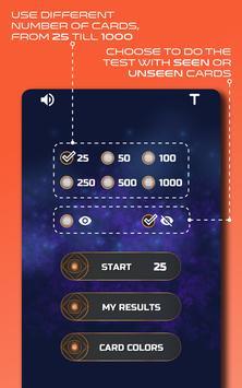Zener Cards Perception Test スクリーンショット 17