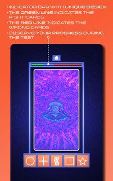 Zener Cards Perception Test スクリーンショット 10