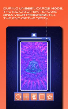 Zener Cards Perception Test スクリーンショット 11