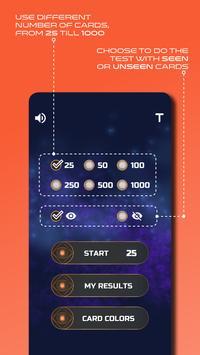 Zener Cards Perception Test スクリーンショット 1