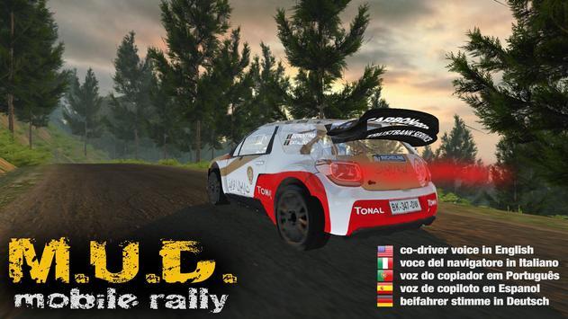 M.U.D. Rally Poster