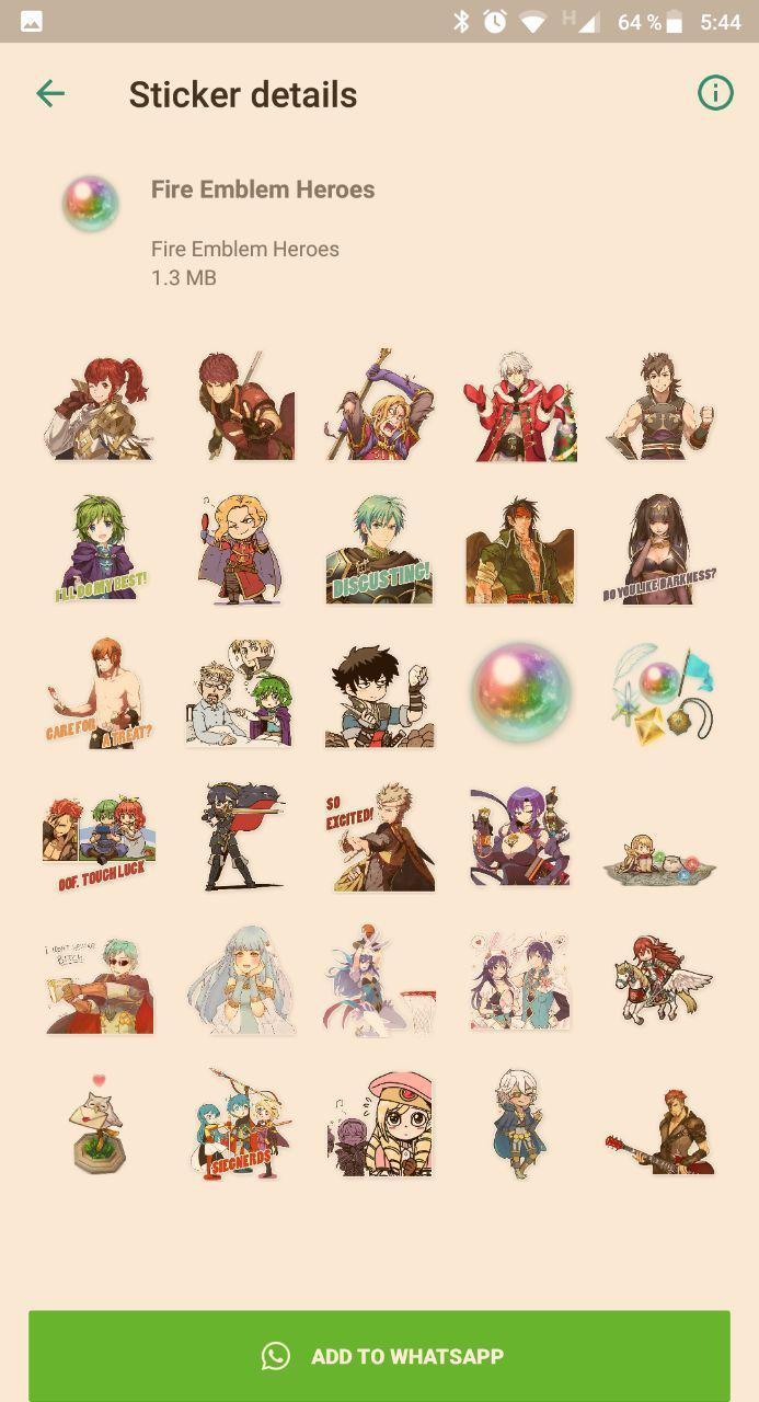Fire Emblem Stickers WAStickerApps for Android - APK Download