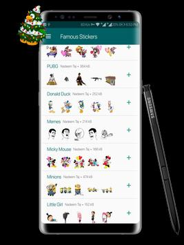 Famous Stickers screenshot 7