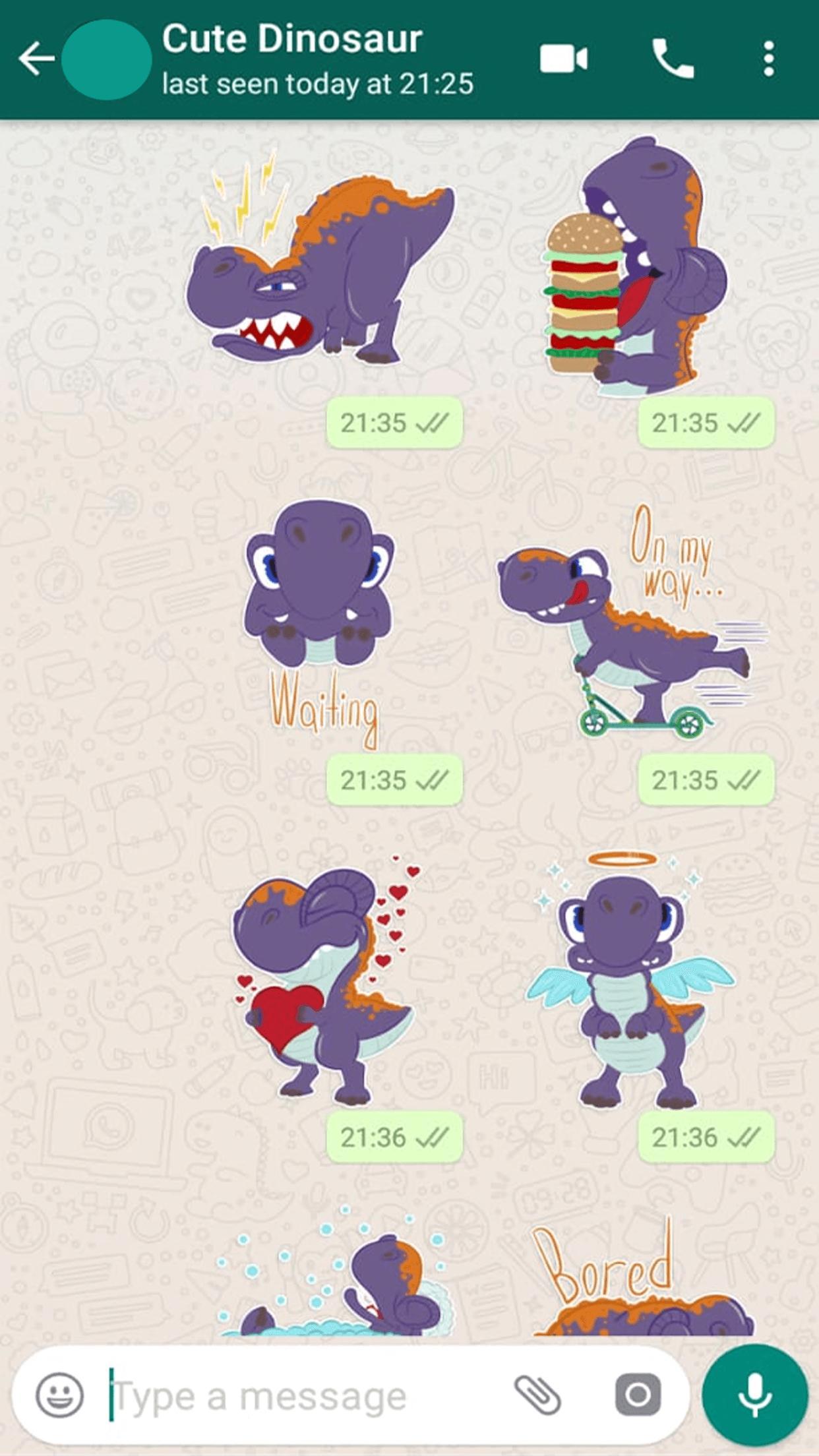 Stiker Dinosaurus Lucu Untuk Wastickerapps For Android Apk Download
