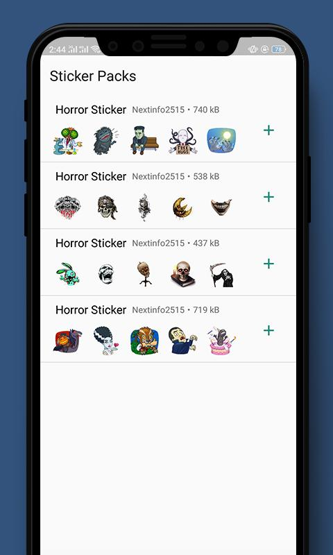 Scary & Horror Stickers WAStickersApp for Android - APK Download