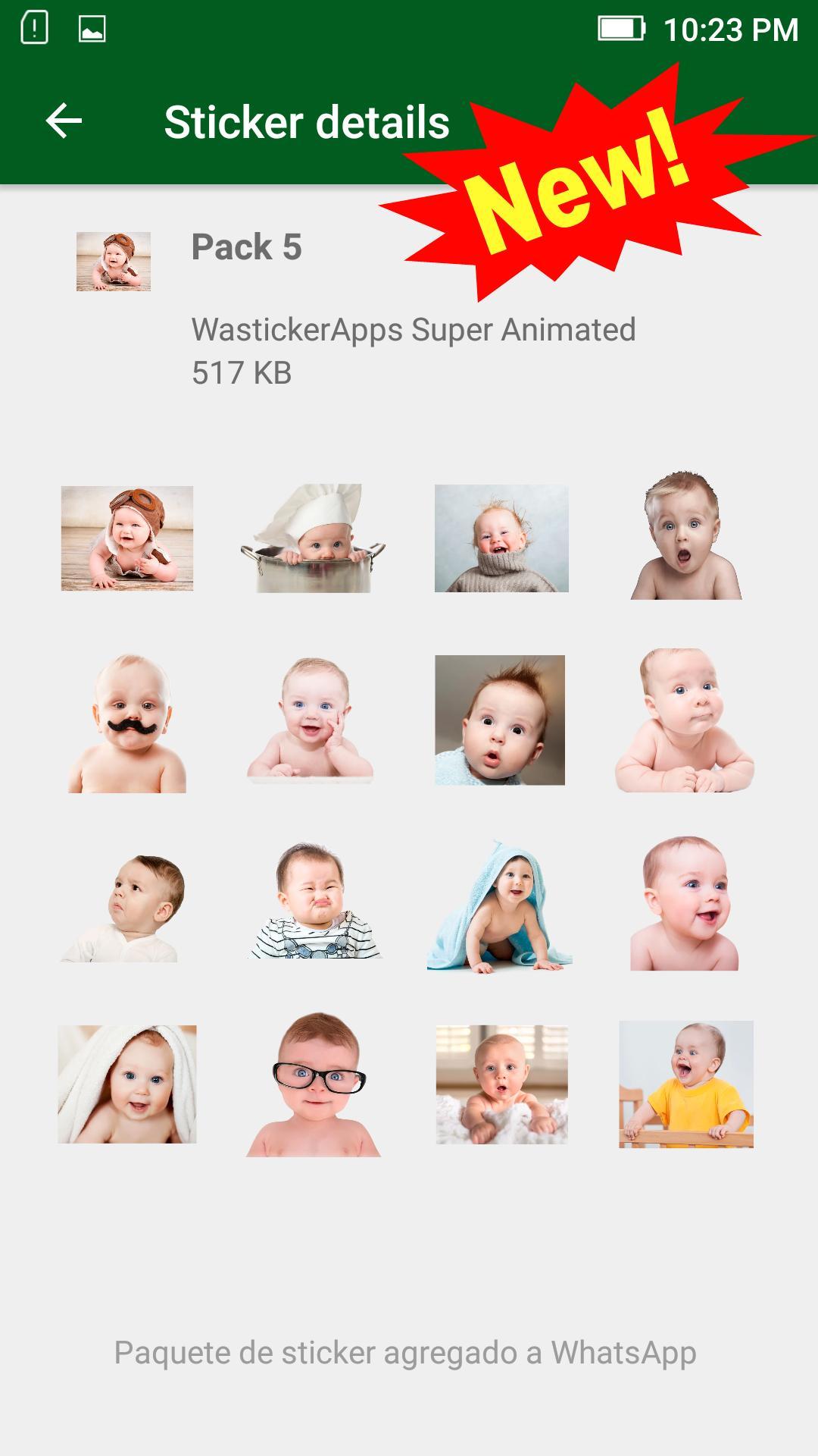 Neue Baby Meme Aufkleber Wastickerapps Für Android Apk