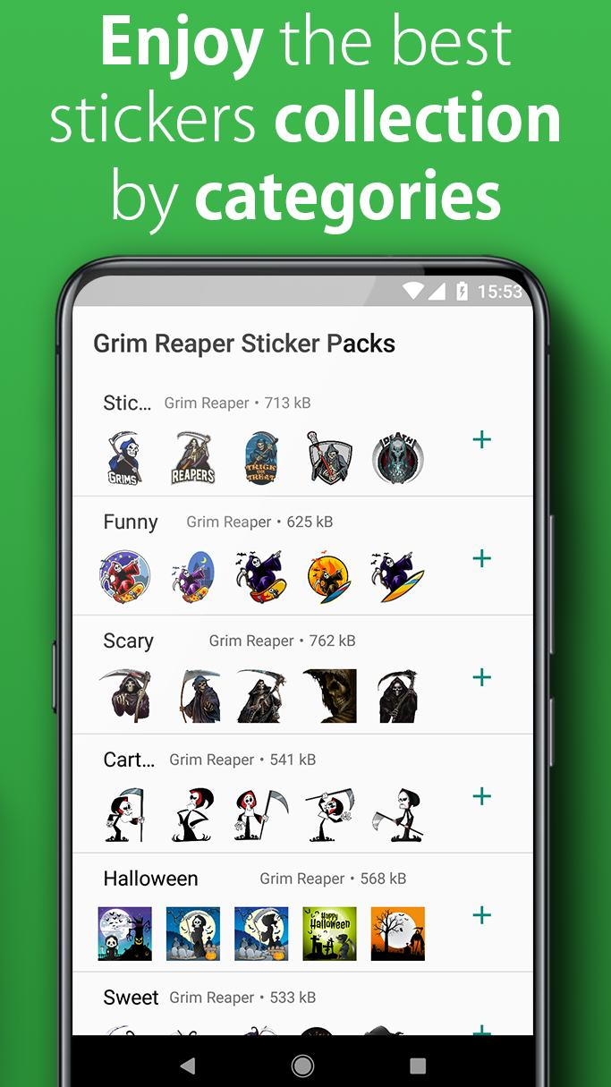 Grim Reaper WAStickerApps Free for Android - APK Download