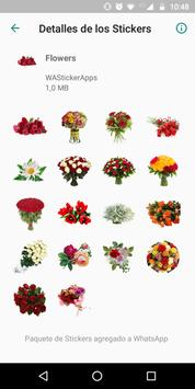 🌹🌺 WAStickerApps - Цветы скриншот 1