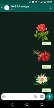 🌹🌺 WAStickerApps - Цветы скриншот 2
